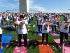 First International Day of Yoga Celebrated in Washington