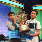 Jairam Hathwar, 13, and Nihar Janga, 11, Declared Co-Champions of the 2016 National Spelling Bee