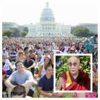 Dalai Lama's 'Peace' Talk Draws Thousands to Washington