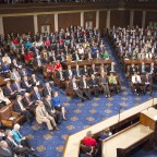 Prime Minister Modi's Address to Congress Draws Multiple Standing Ovations, Sustained Applause