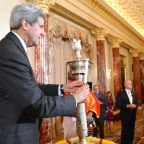 US Secretary of State John Kerry Hosts First-Ever Diwali Celebration at State Department