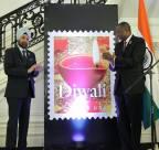 Diwali Stamp Unveiled at Indian Embassy Celebration in Washington
