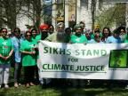 EcoSikh Joins Thousands in Earth Day Rally for Climate Action