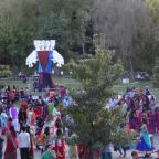 Thousands Celebrate Dussehra at Hare Krishna Temple in Washington