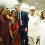 Gubernatorial candidate Ralph Northam leads Virginia Democrats in celebrating Diwali