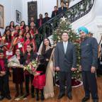 A mix of Indian flavors at Christmas celebration by Embassy in Washington