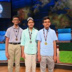 Indian-American teens make a clean sweep of awards at 2018 National Geographic Bee