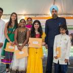 Patriotic sights and sounds mark India's 72nd Independence Day event at Embassy Residence in Washington