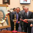 Year-long celebrations for Mahatma Gandhi's 150th birth anniversary begin in Washington with Capitol Hill event