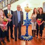 Messages of kinship mark Hanukkah celebration at Indian Embassy in Washington