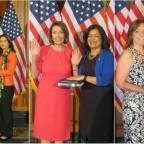 Record 102 women sworn into US House of Representatives