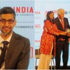 Google CEO Sundar Pichai conferred with 2019 Global Leadership Award