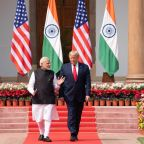 President Trump sidesteps questions on India's citizenship law even as violent clashes erupt in Delhi