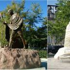 Mahatma Gandhi statue in Washington vandalized amid George Floyd protests and riots