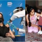 Kamala Devi Harris remembers India-born mother during NIH visit for Covid-19 vaccine