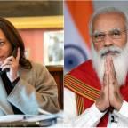 Kamala Harris calls Prime Minister Modi, apprises him of US plan to share Covid-19 vaccines